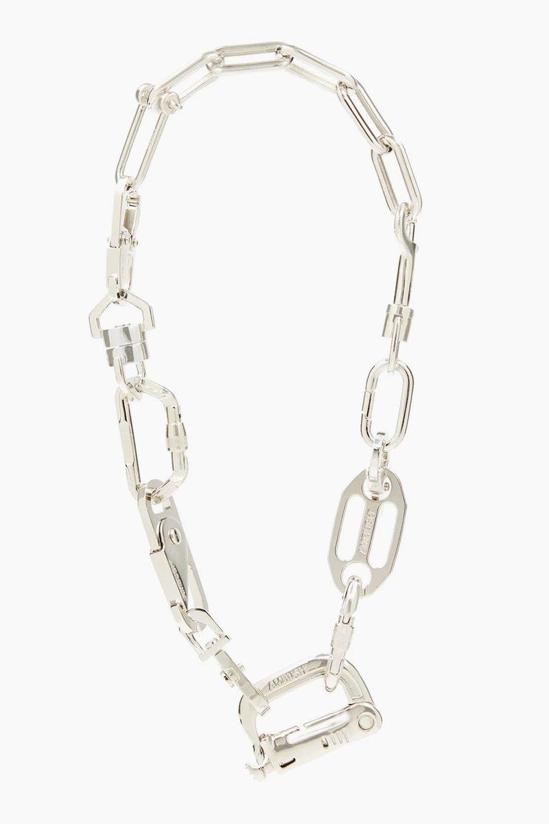 Avant-Garde Silver Necklaces