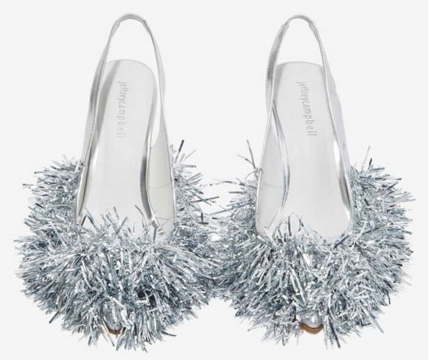 Festive Tinsel Heels