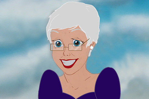 Elderly Disney Princesses