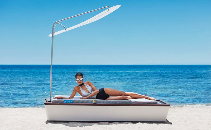 Tech-Infused Outdoor Loungers