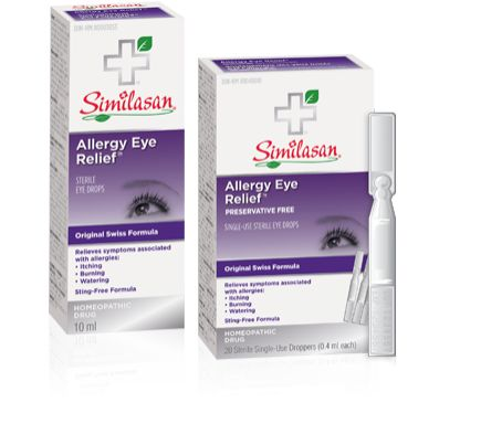 Gentle Anti-Allergy Eye Drops