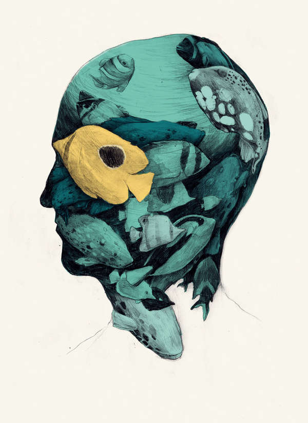Stunning Surrealist Illustrations Sim 243 N Prades