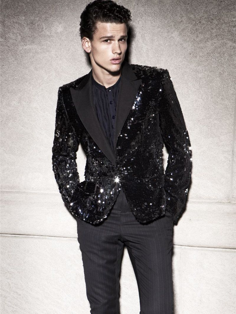 Sequined Suit Shoots