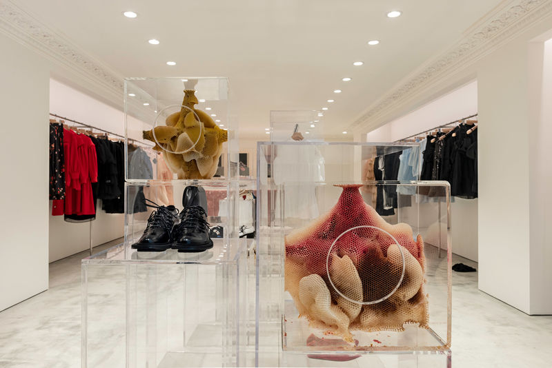 Unusual Artwork-Accented Fashion Stores
