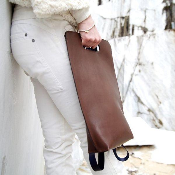 Miniamalist Leather Backpacks