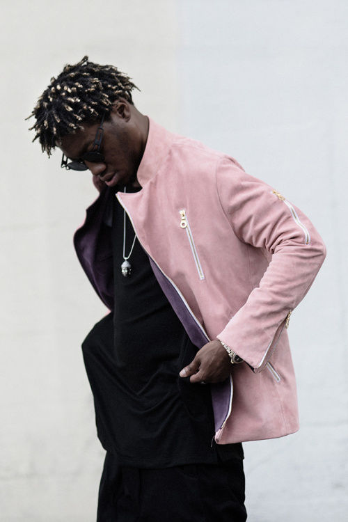 Rapper-Modeled Menswear