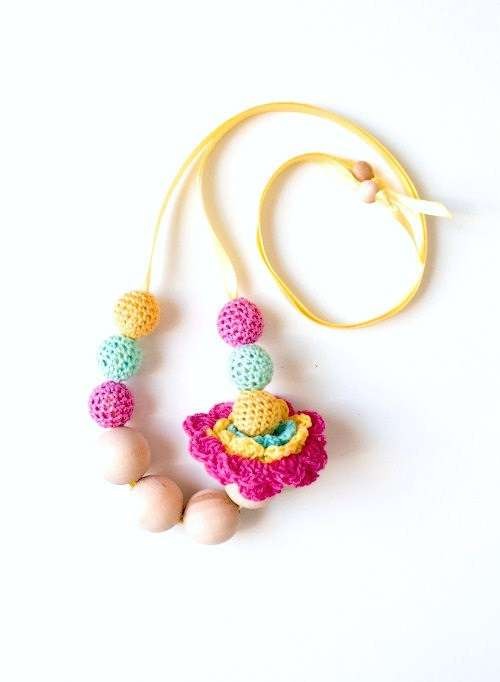 Chunky Crocheted Necklaces
