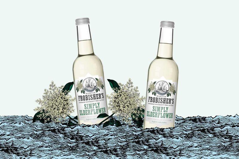 Alcohol-Free Elderflower Refreshers