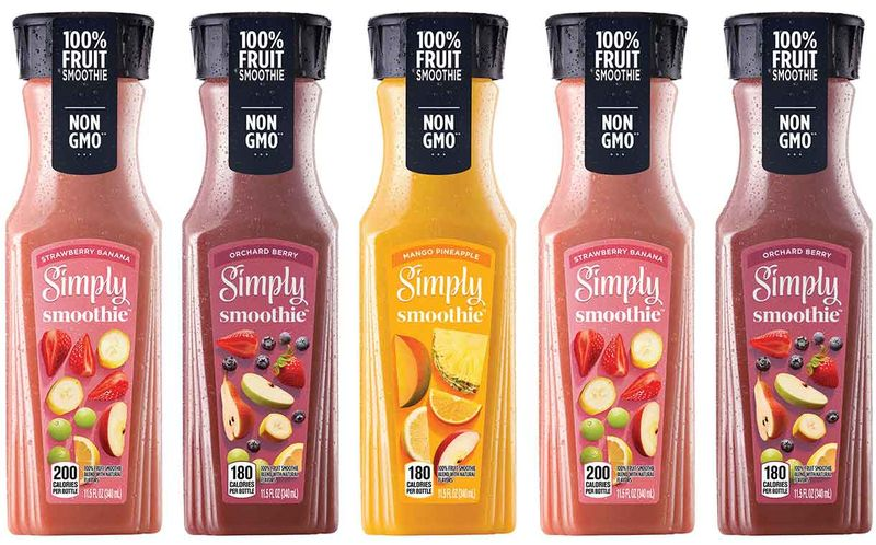 Preservative-Free Prepackaged Smoothies