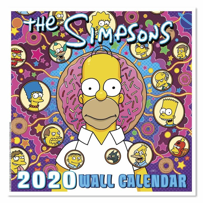 Playful Cult Cartoon Calendars