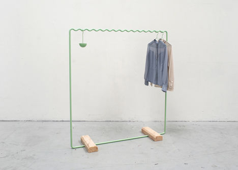 Math-Inspired Clothing Racks