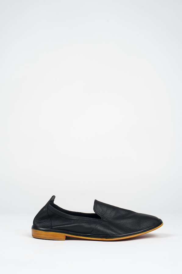 Simple Slip-On Leather Soles