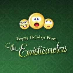 Singing Holiday Emoticons