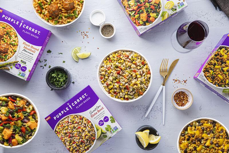 Single-Serve Plant-Based Meals