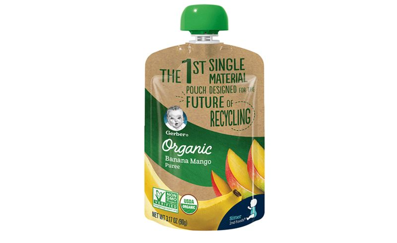 Single-Material Baby Food Pouches