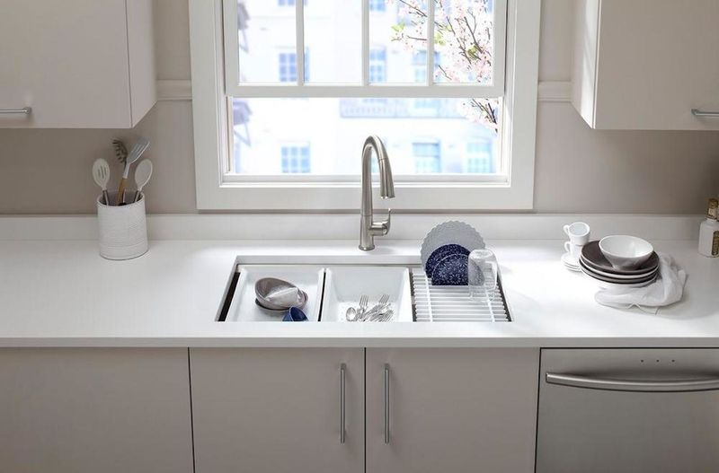Built-In Accessory Sinks
