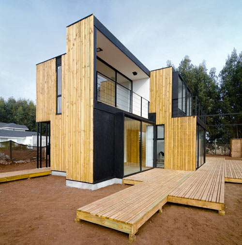 Skinny Paneled Abodes Sip Panel House