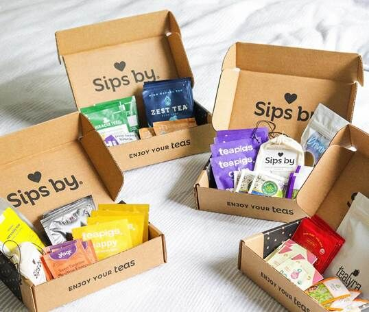 Monthly Tea Subscription Boxes