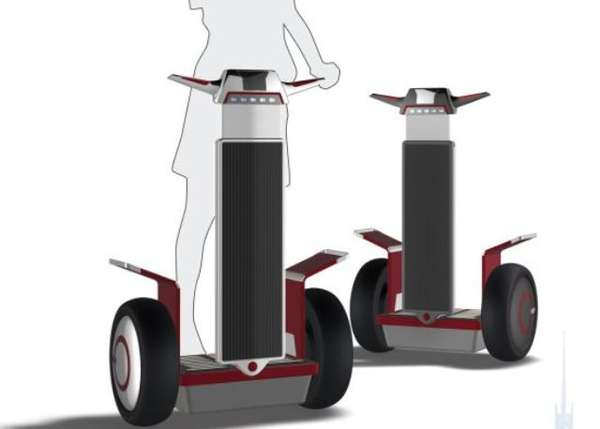 Solar-Powered Segways