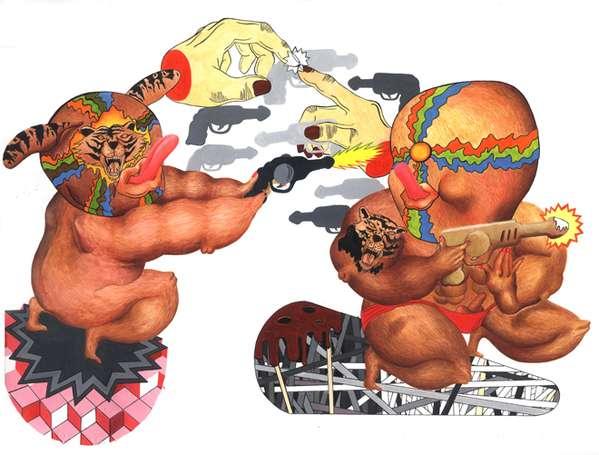 Freaky Figure Illustrations