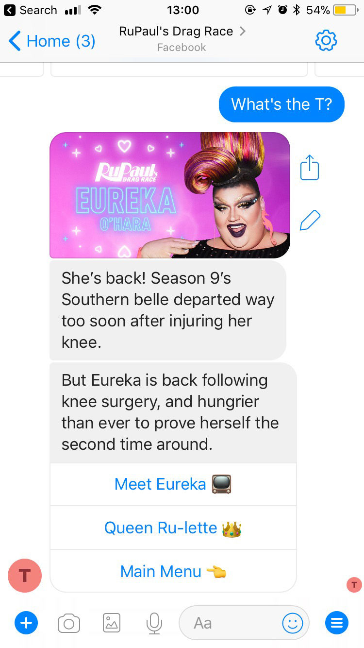 Drag Queen Chatbots