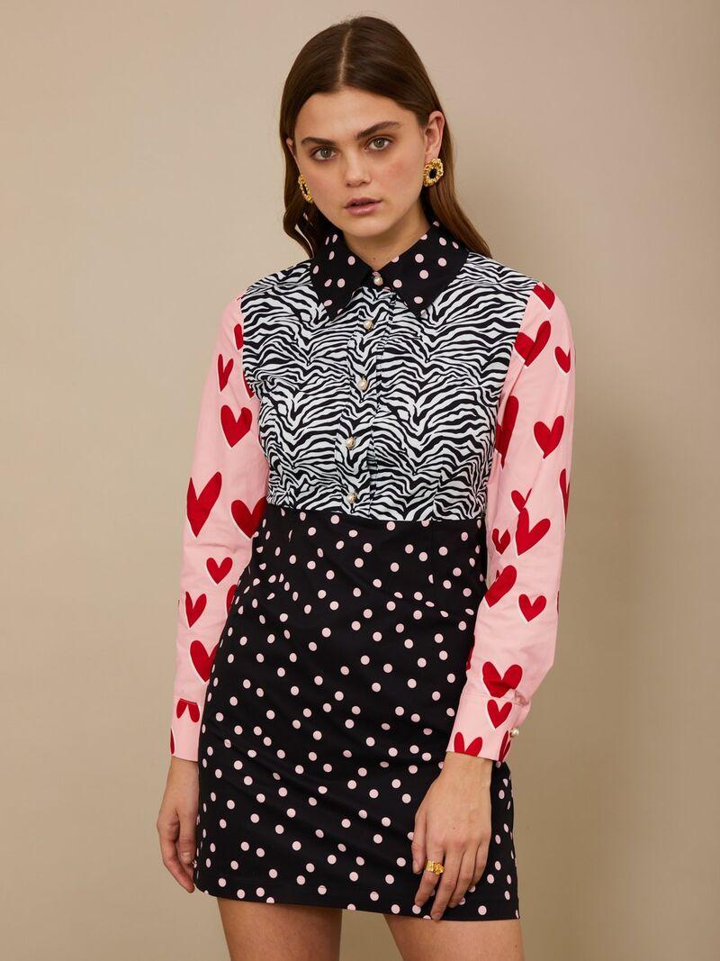 Romantic Multi-Print Dresses