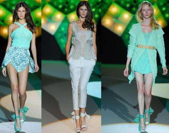 Glimmering Oceanic Fashion