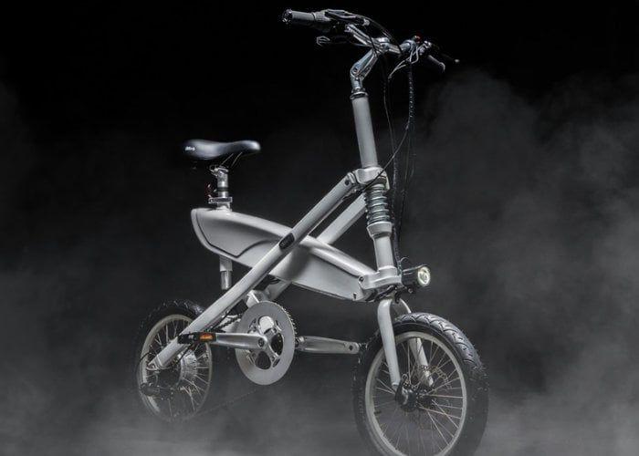 Folding X-Frame Electric Bikes