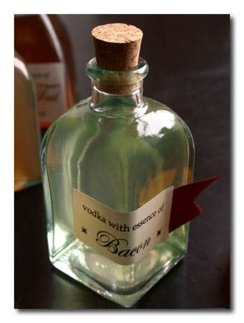 Bacon Flavor Vodka Recipe