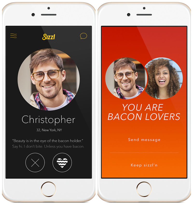 Bacon-Themed Dating Apps