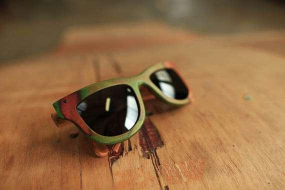 Recycled Skateboard Shades