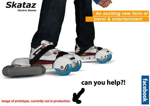 Battery-Powered Rollerblading