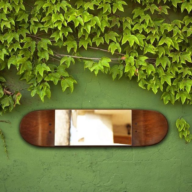 Skateboard Mirror Decor