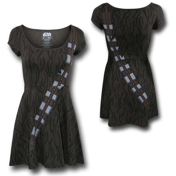 Furry Interglactic Dresses : Skater Dress design