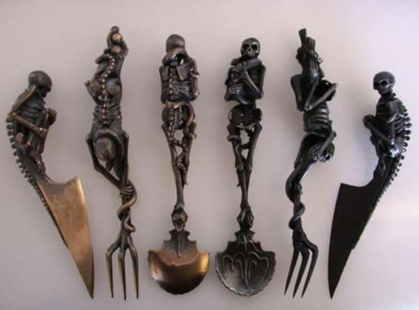 Skeletal Cutlery Sets