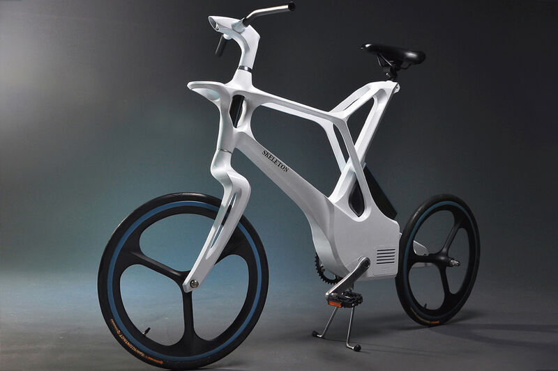 Skeletally Constructed eBikes