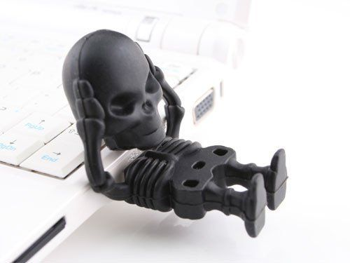Spooky Skeleton USB Drives