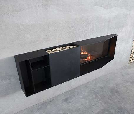 Modern Modular Fireplaces