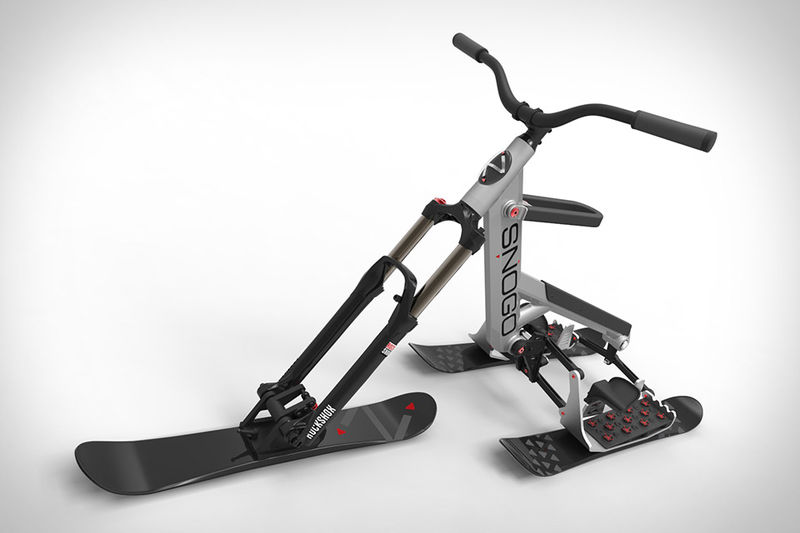 Articulating Ski Bikes Ski Bike