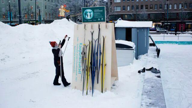 Urban Ski-Sharing Programs