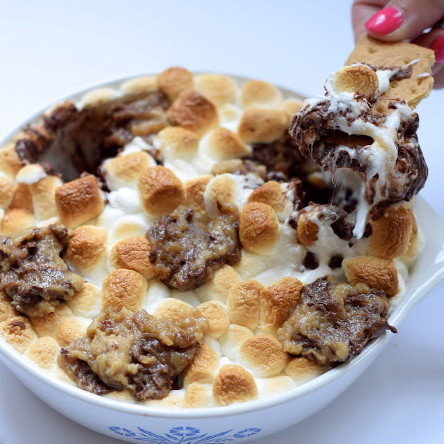 S'more-Flavored Skillet Treats