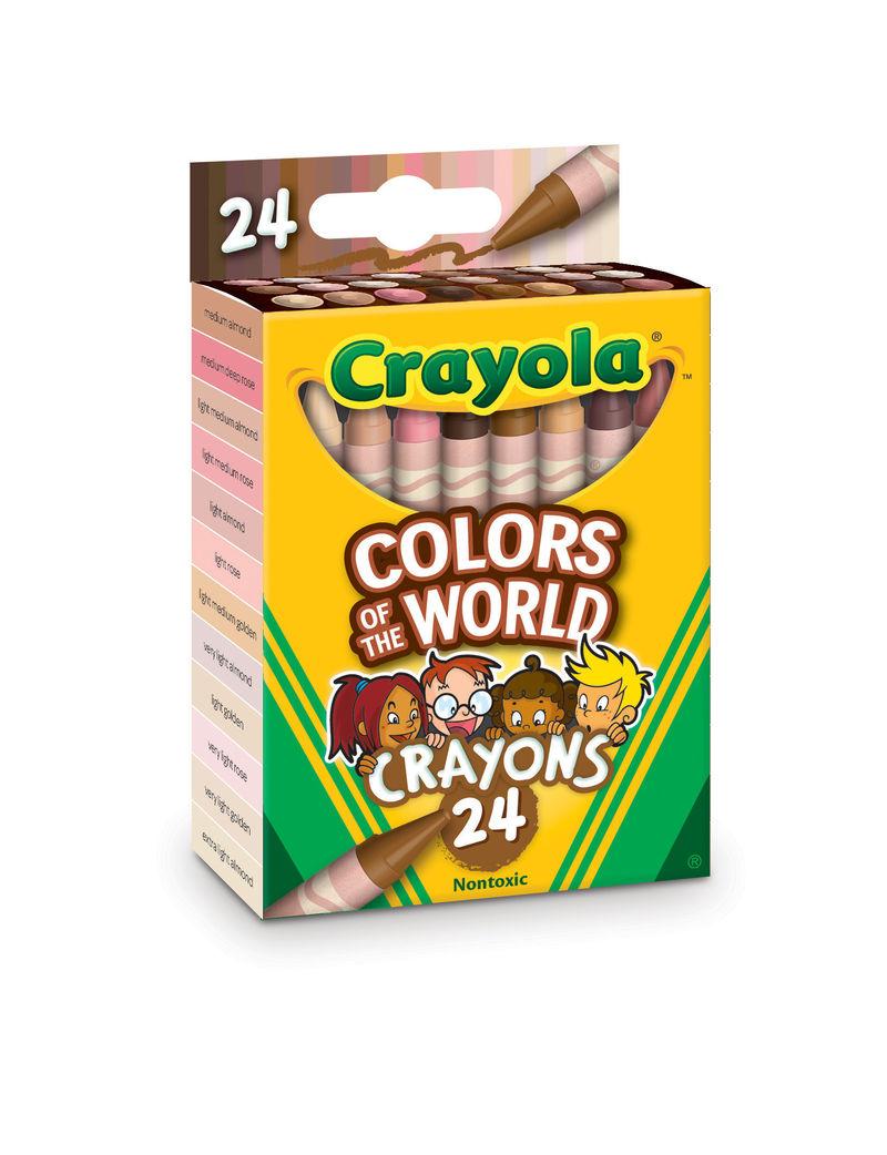 Inclusive Skin Tone Crayons