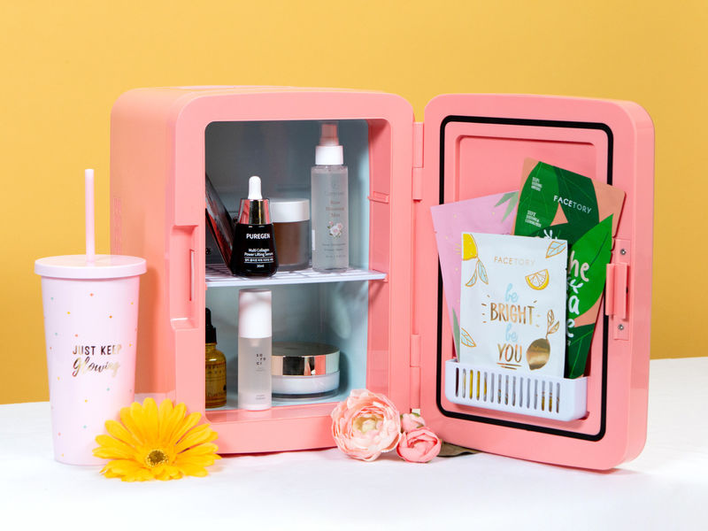 Miniature Skincare Fridges - The FaceTory Fridge Improves Beauty Experiences & Prolongs Product Life (TrendHunter.com)