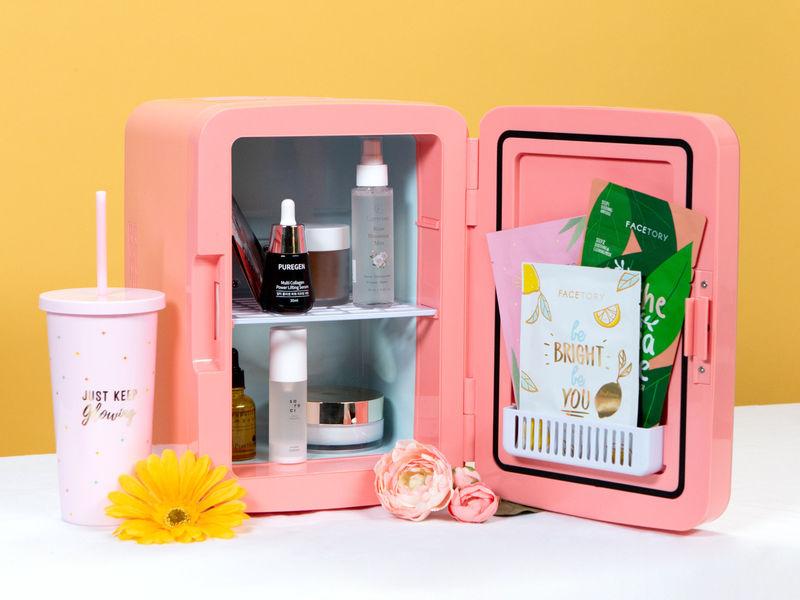 Miniature Skincare Fridges - The FaceTory Fridge Improves Beauty Experiences & Prolongs Product Life (TrendHunter.com)
