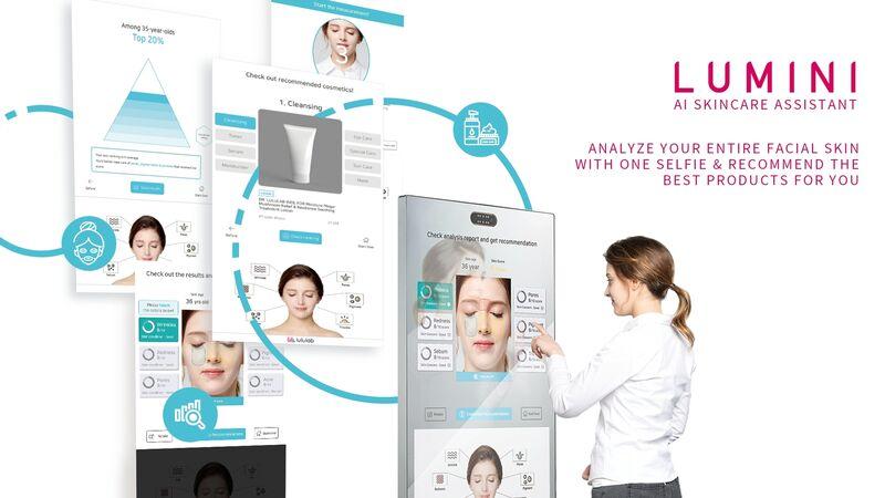 AI-Powered Skincare Kiosks