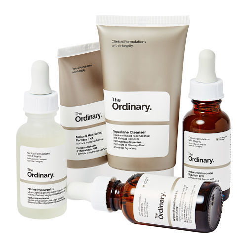Affordable Skincare Starter Sets - The Ordinary's Kits Address Pigmentation, Congestion & More (TrendHunter.com)