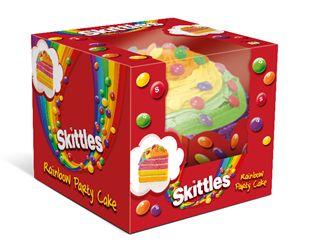 Rainbow Candy Cakes Skittles Cake