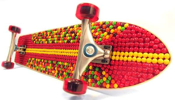 Candy-Coated Skateboards