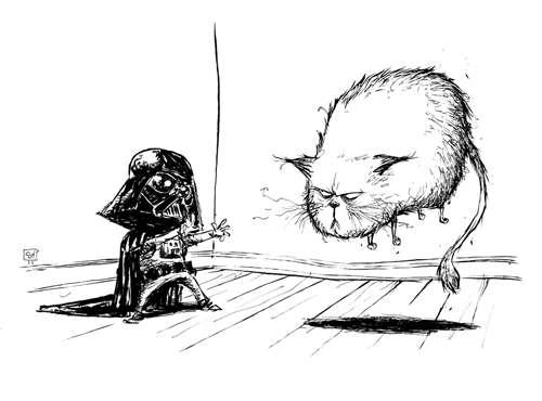 Sketchy Sci-Fi Illustrations