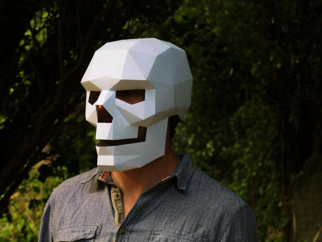 Geometric Skull Masks